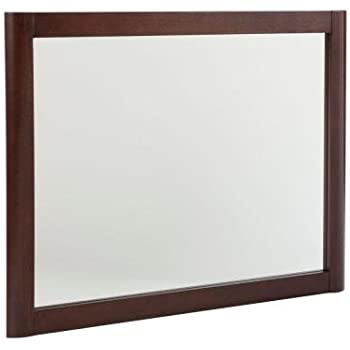 Home Decorators Collection MDWM26COM CN Madeline 26 In. Wall Mirror In  Chestnut