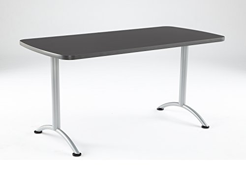 Iceberg ICE69217 ARC 5-foot Rectangular Conference Table, 30'' x 60'', Graphite/Silver Leg by Iceberg (Image #6)