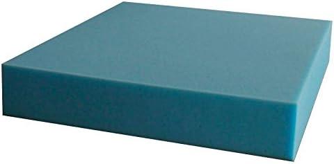 Ventadecolchones Pieza de Espuma a Medida 60 x 120 x 15 cm - Densidad 25 kg/m3 Extrafirme, para Otras Medidas consúltenos
