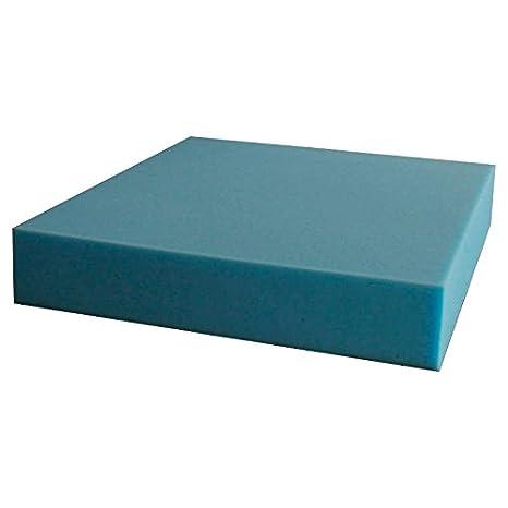 ventadecolchones.com Pieza de Espuma a Medida 50 x 50 x 8 cm - Densidad 25 kg/m3 Extrafirme, para Otras Medidas consúltenos