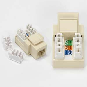 amazon com rj11 12 (cat 3) 110 type keystone jack ivory home rj11 4 wire wiring-diagram rj11 12 (cat 3) 110 type keystone jack ivory