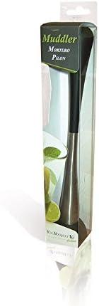 Vin Bouquet FIK 002 - Mortero Coctel, Machacador para Hierbas y Especias
