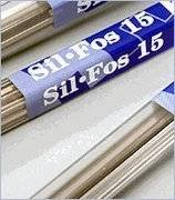 Sil Part - LUCAS MILHAUPT SIL-FOS 15% Part #95177 Silver Solder 7 Sticks