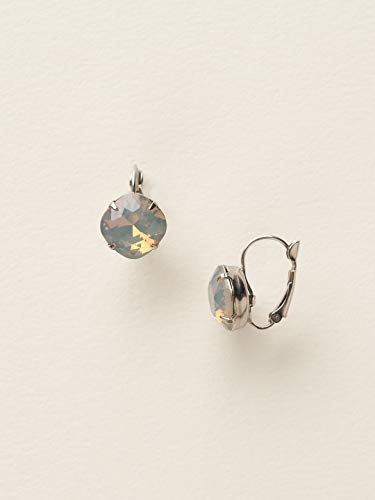 Sorrelli Single Drop Crystal Earring, Gray, 1