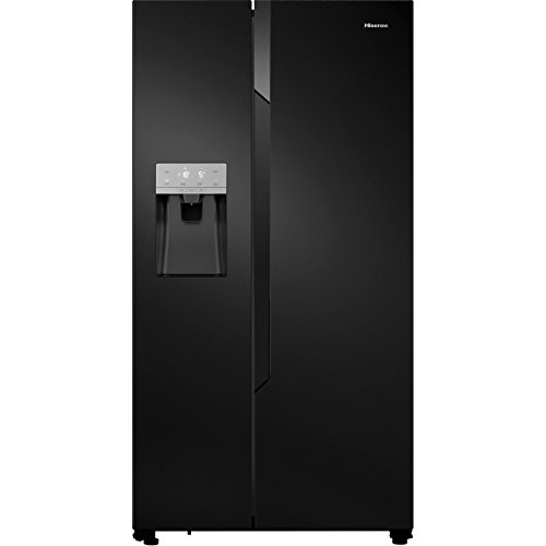 Hisense RS694N4TB1 Side-by-side American Fridge Freezer With Non Plumbed Ice &...