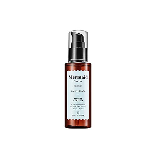 [SWISSPURE] Mermaid Secret Hair Therapy Perfumed Hair Serum [Multipurpose perfume hair serum makes extremely glossy & silky hair] (80ml)