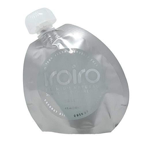 IROIRO Premium Natural Semi-Permanent Hair Color 130 Silver (8oz) (Hair Dye That Doesn T Require Bleach)
