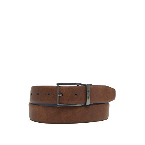 Kenneth Cole Reaction Reversible Belt with Gunmetal Buckle