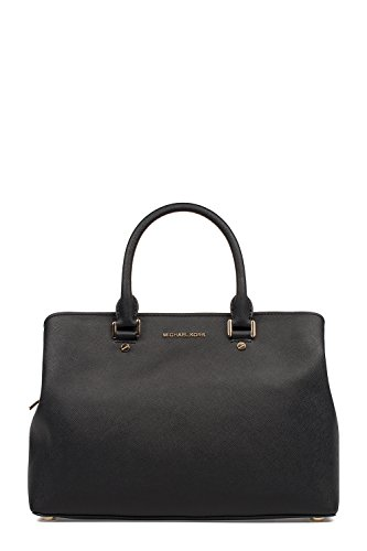 Michael Kors Michael Handtaschen 30S6GS7S3L001 Schwarz Leder Damen By rq6wE4Or