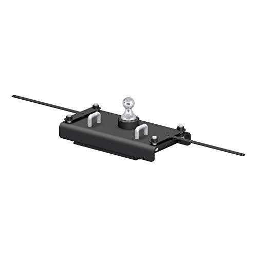 (CURT 60614 Original-Equipment Black for 2-5/16-Inch OEM-Style Gooseneck Hitch for 2014-2018 Ram 2500 Trucks (30,000 lbs. GTW, 2-5/16