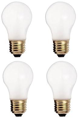 Dysmio Lighting - 15-Watt 100-Lumen General Purpose A15 Incandescent Light Bulb (Pack of 4)
