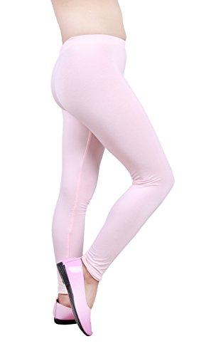 d95b3a11efec68 IRELIA Girls Leggings 3 Pack Modal Solid Size 4-16 Spring/Fall ...