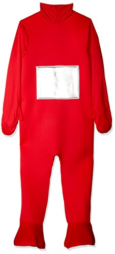 Adult Po Teletubbies Costumes (Teletubbies Red Po Adult Fancy Dress Stag Costume)