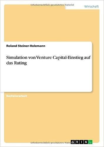 Simulation Von Venture Capital-Einstieg Auf Das Rating