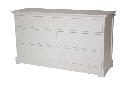 Munire Chesapeake Double Dresser - White by Munire