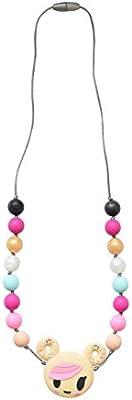 Itzy Ritzy teething necklace tokidoki donutella