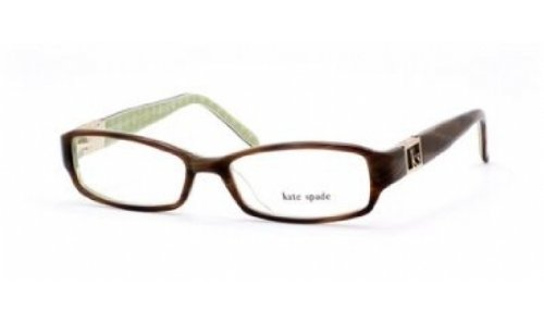 - Kate Spade Florence Eyeglasses-0JDJ Horn Green Noel-51mm