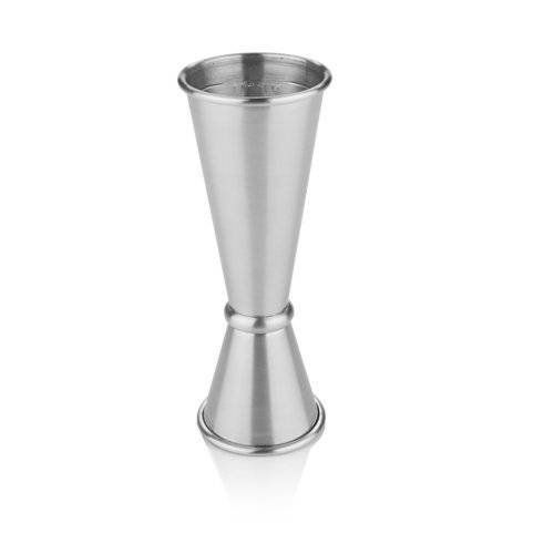 Jigger Stainless Steel, Vintage Professional Double Cocktail Jigger (Sold by Case, Pack of 6) by True Fabrications