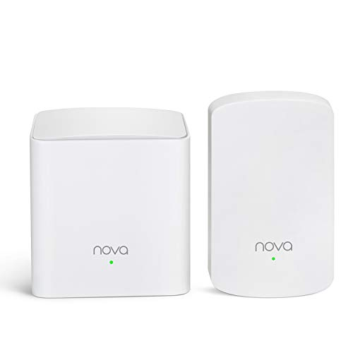 Tenda Nova MW5 Wall-Plug Whole Home Mesh WiFi System, Covera