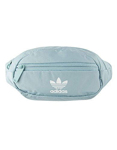 adidas Originals National Waist Pack, Ash Grey/White, One Size