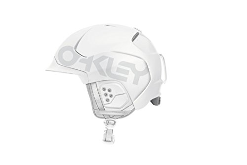 Oakley Mod5 Factory Pilot Snow Helmet, Matte White, - Matte White Oakley