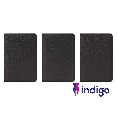 Indigo 2019 - Agenda semanal de bolsillo con textura de piel ...