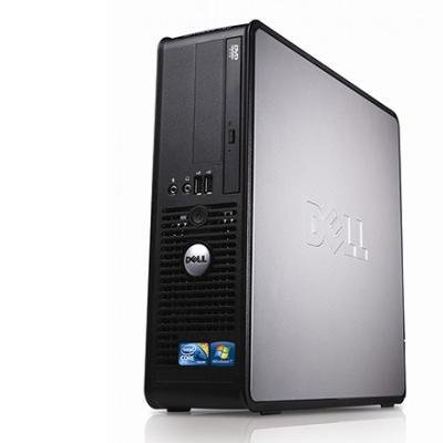 2018 Dell OptiPlex Desktop Complete Computer Package with DVD, WiFi, Windows 10 - Keyboard, Mouse, 19