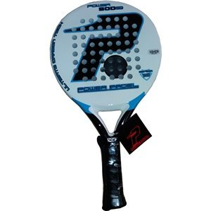 POWER PADEL 0516622 Pala, Unisex Adulto, Blanco/Negro/Azul, 38 mm ...