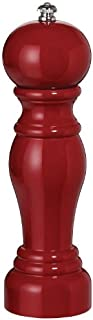 product image for Fletchers' Mill Enchantment Pepper Mill, Cinnabar - 8 Inch, Adjustable Coarseness Fine to Coarse, MADE IN U.S.A.