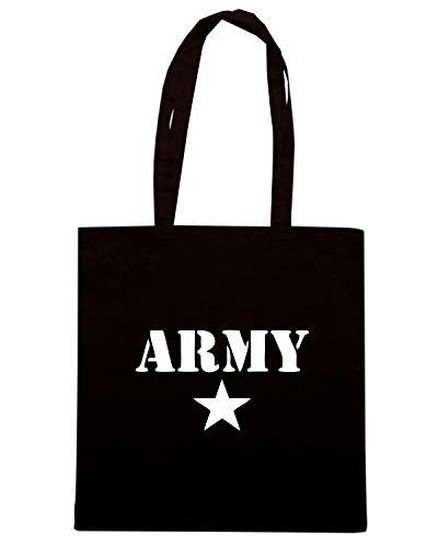 Speed Shirt Borsa Shopper Nera TM0494 ARMY