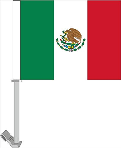 Mexico Car Window Flag Pack of 10 ()