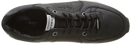 Pepe Jeans Herren Tinker Top Sneaker Schwarz (Black 999)
