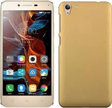 Shop Buzz  TM  Rubberised Matte Hard Case Back Cover For VIVO Y31L  Golden Colour  Cases   Covers