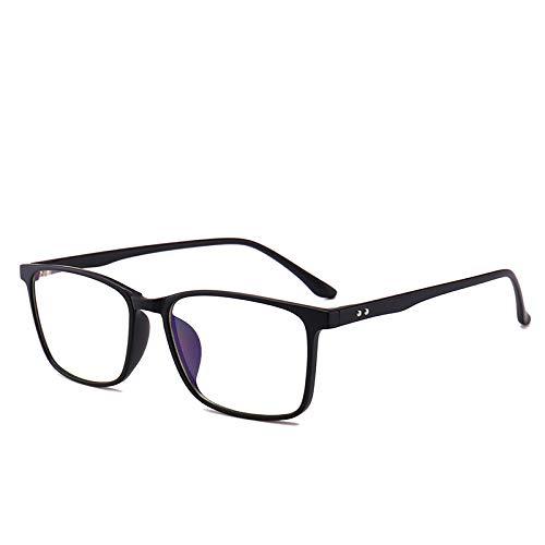 OUYAWEI قابل حمل برای آقایان ضد اشعه آبی در مقابل تابش اشعه ایکس مقاومت در برابر تابش عینک قاب سیاه و سفید شن و ماسه C2