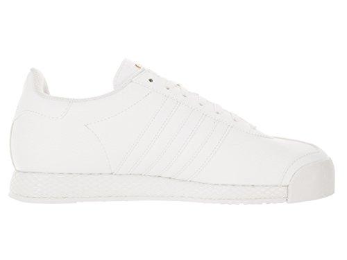 Adidas Originals Mens Samoa Retro Sneaker Vit / Vit / Metallic / Guld
