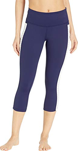 Brooks Women's Greenlight Capris Navy/White Medium 20