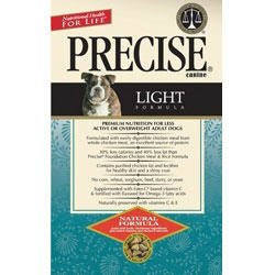 Precise 726021 5-Pack Canine Light Dry Food, 5-Pound