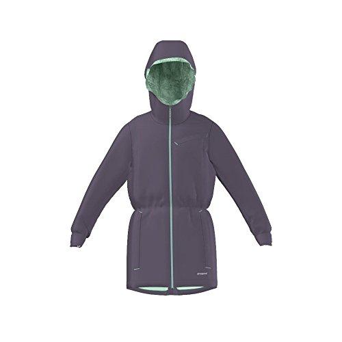 Adidas Outdoor Girls Adidas Girls' Ash Purple Climaproof Storm Parka, S, Purple