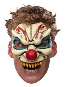 Evil Clown Chinless Mask