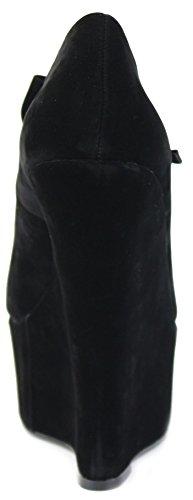 Nero 3 Piattaforma Mid Donne Donna Low Summer Alto Taglia Peep Cinturino Nuove Scarpe Sandali Toe Tacco qZ46q