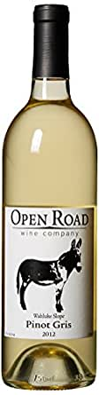 2012 Open Road Wahluke Slope Pinot Gris 750 mL