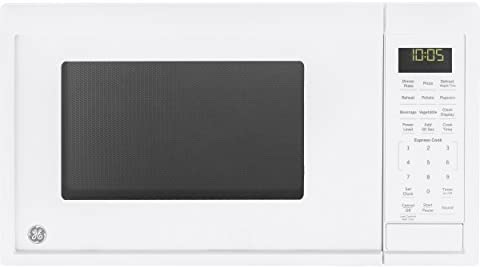 GE Appliances JES1095DMWW GE 0.9 Cu. Ft. Capacity Countertop Microwave Oven, White