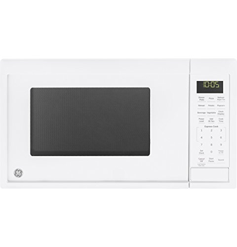 GE Appliances JES1095DMWW Microwave Oven, 0.9 Cu Ft, White