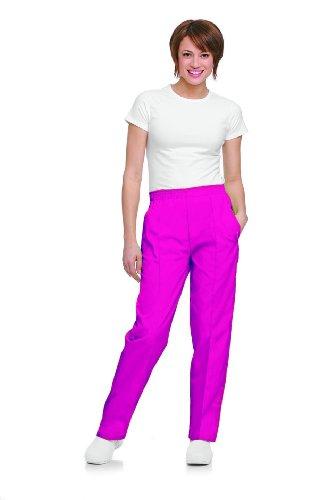 Landau 'Landau Women's Classic Fit Pant Scrub Pant - 8320' Scrub Bottoms Primrose Large Petite