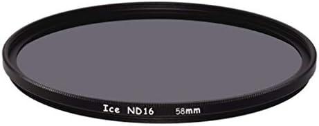 ICE 58mm ND16 フィルター ニュートラル密度 ND 16x 4ストップ 光学ガラス 58