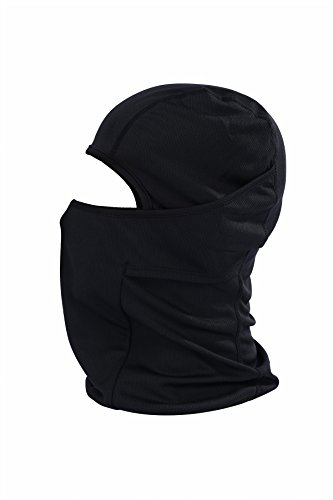 Fontic Multi Function Windproof Comfortable Face Mask Sports Balaclava/Motorcycle Neck Warmer ULTIMATE PROTECTION from COLD WIND DUST and SUN's UV Rays (Long Neck Warmer)