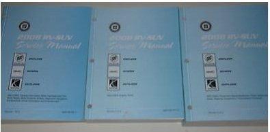 2008 BUICK ENCLAVE Service Shop Repair Manual Set FACTORY BOOKS 08 NEW