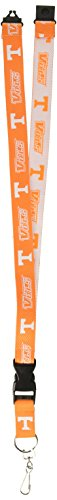 Pro Specialties Group NCAA Tennessee Volunteers Two-Tone Lanyard, Orange, One Size