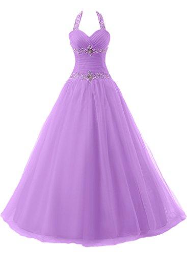 """un'ampia da lieb Ivydressing vestito Duchesse Lavanda cantore Ling sera vestito Neck Donna linea con""""sassi Bete lungo OP51Uwqq"""