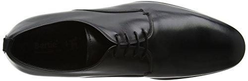 Bertie Protons, Scarpe Stringate Derby Uomo Nero (Black Leather)